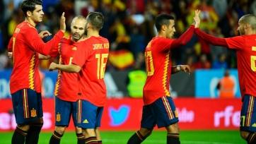 Испания перед игрой с Россией уничтожила Коста-Рику