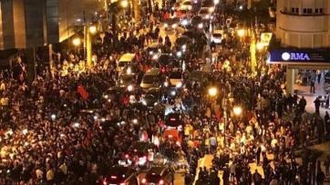 Марокканские болельщики устроили массовые беспорядки в Брюсселе