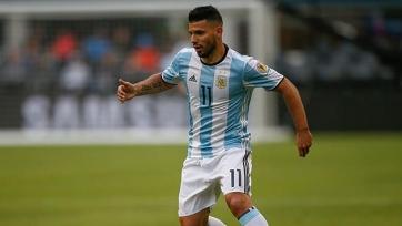 Агуэро вышел на третье место среди лучших бомбардиров сборной Аргентины