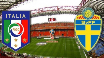 Италия – Швеция, прямая онлайн-трансляция. Стартовые составы команд