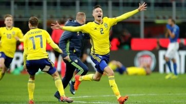 Шведский защитник обматерил фанатов сборной Италии