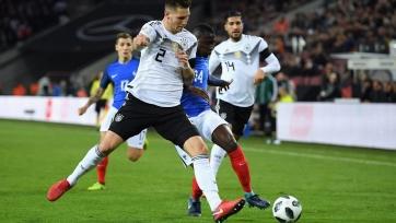Германия вырвала ничью в матче со сборной Франции