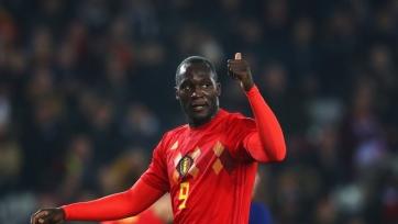 Лукаку вышел на чистое первое место в списке бомбардиров сборной Бельгии
