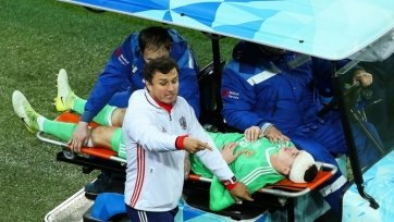 Появилась точная информация относительно травмы Лунёва