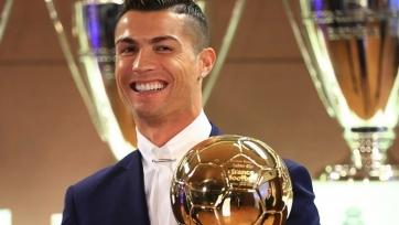 Роналду рассказал, сколько «Золотых мячей» хочет выиграть