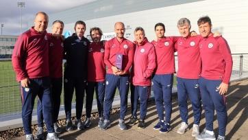 Гвардиола назван лучшим тренером АПЛ в октябре