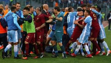«Рома» - «Лацио», прямая онлайн-трансляция. Стартовые составы команд