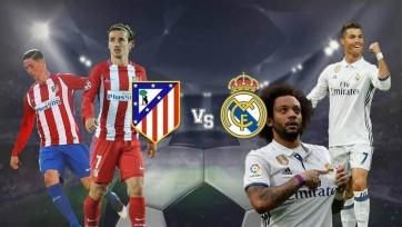 «Атлетико» – «Реал», прямая онлайн-трансляция. Стартовые составы команд