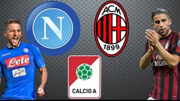 «Наполи» – «Милан», прямая онлайн-трансляция. Стартовые составы команд