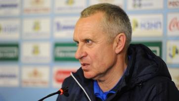 Кучук: «Был сегодня спокойным на скамейке, поскольку видел, что команда хочет выиграть и играет»