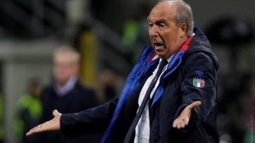 Вентура не поладил с ветеранами сборной Италии