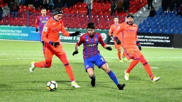 Барбаро – о встрече с ЦСКА: «В последние 10 минут матча ничего не чувствовал – ни рук, ни ног»
