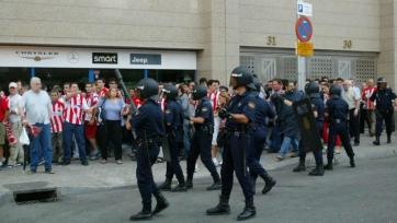 После нападения фаната охранник «Ванда Метрополитано» ослеп на один глаз