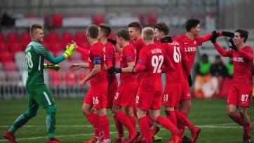 «Спартак» уничтожил «Марибор» в юношеской лиге УЕФА