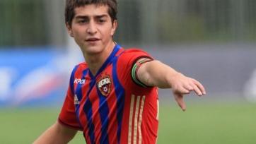 ЦСКА выиграл первый матч в юношеской лиге УЕФА