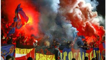 УЕФА оштрафовал ЦСКА за поведение болельщиков в Швейцарии