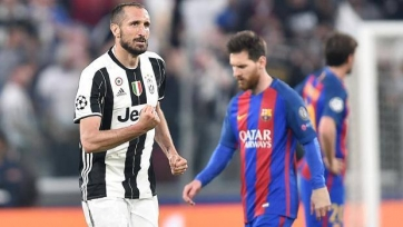 Кьеллини не сыграет против «Барселоны»