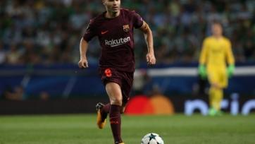 Иньеста: «Приятно, что мне аплодировали болельщики и «Ювентуса», и «Барселоны»