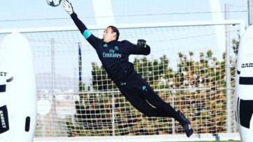 Навас вернулся в общую группу «Реала»
