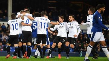 «Аталанта» - первая итальянская команда, которая сумела забить пять и более мячей в ворота английского клуба