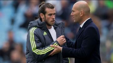 Зидан: «Бэйл очень важен для мадридского «Реала»