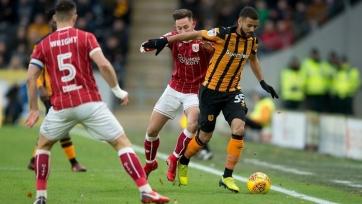 «Халл» проиграл «Бристоль Сити», ведя по ходу матча со счётом 2:0