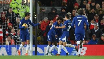 «Челси» спас ничью в Ливерпуле благодаря голу Виллиана