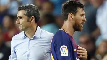 Вальверде прокомментировал продление контракта «Барселоны» с Месси