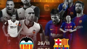 Анонс. «Валенсия» – «Барселона». Битва непобедимых на «Месталье»