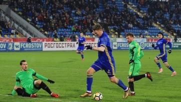 «Ростов» уверенно обыграл «Анжи», Бухаров оформил дубль