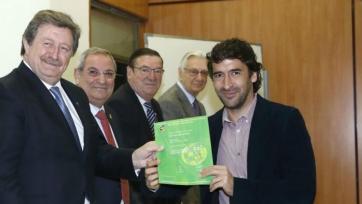 Рауль получил диплом спортивного директора