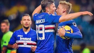 «Сампдория» пробилась в следующий раунд Кубка Италии, «Кальяри» и СПАЛ вылетели