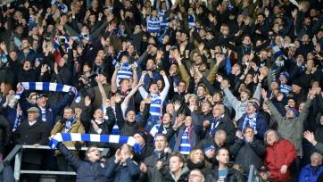 «Рединг» включил своих фанатов в заявку на матч (фото)