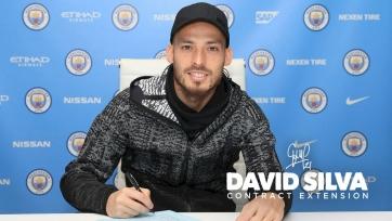 Официально: Давид Силва продлил соглашение с «Манчестер Сити»