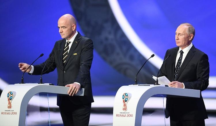 Жеребьёвка Чемпионата мира 2018 года. Как это было