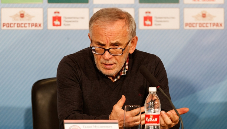 Гаджиев прокомментировал игру против «Амкара»