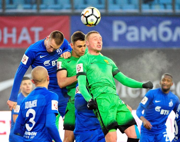 Динамо Москва одержало уверенную победу над Анжи