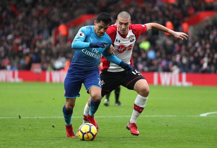 «Арсенал» вырвал ничью в матче с «Саутгемптоном»