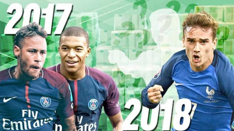 Marca опубликовала 10 лучших трансферов 2017 года