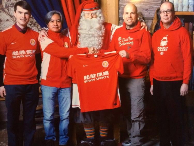 История ФК «Санта-Клаус» – лапландской команды с китайскими спонсорами