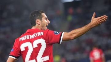 Мхитарян не поехал с «МЮ» на матч против «Арсенала»
