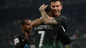 «Краснодар» вырвал победу у «Ахмата», уступая по ходу встречи со счетом 0:2