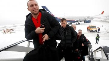 «Спартак» вылетел на игру с «Ливерпулем»