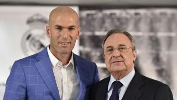 Перес: «Зидан – один из величайших символов «Реала», одна из икон клуба»