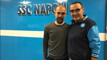Гвардиола сообщил Сарри, что «Сити» выложится в Харькове на полную катушку