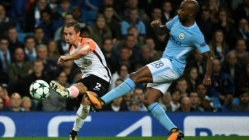 «Шахтёр» прервал длительную беспроигрышную серию «Манчестер Сити»