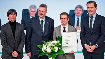 Лам стал шестым почётным капитаном Бундестим в истории
