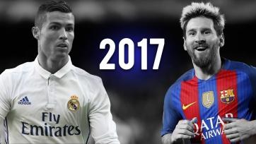 InStat: Месси проводит 2017-й год лучше, нежели Роналду