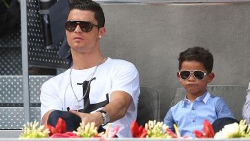 Роналду: «Сын сказал, что будет лучше меня и выиграет пять «Золотых мячей»