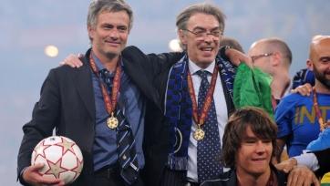 Моратти рассказал об уходе Моуринью в «Реал»